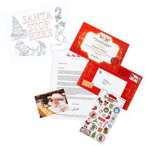 Santa Mails A Letter