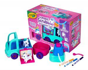 Scribble Scrubbie Pets Grooming Truck