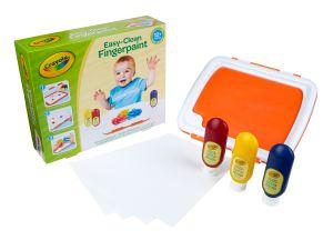 Easy-Clean Finger Paint Set