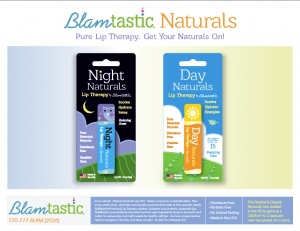 Day and Night Naturals Lip Therapy by BLAMtastic