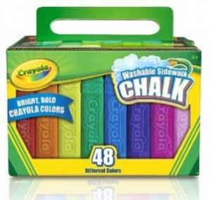 Washable 48 ct. Sidewalk Chalk