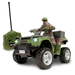 RealTree ATV w/ Hunter in Fabric Outfit