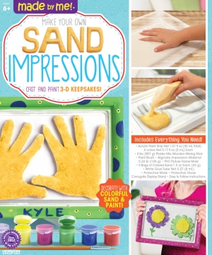 Made By Me: Sand Impressions