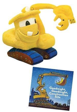 Goodnight, Goodnight, Construction Site Excavator Doll