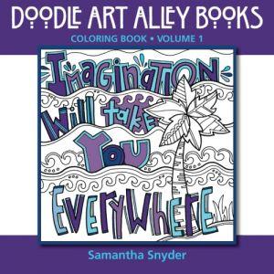 Doodle Art Alley Books Coloring Book - Samantha Snyder