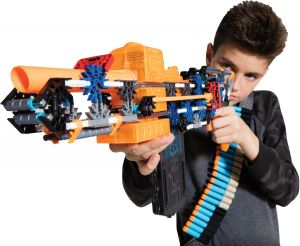 K-FORCE Build and Blast: Flash Fire Motorized Blaster Building Set