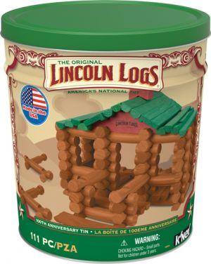 Lincoln Logs: 100th Anniversary Tin