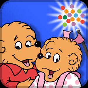 The Berenstain Bears In the Dark - interactive storybook in English