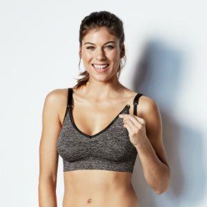 Body Silk Seamless Yoga Nursing Bra