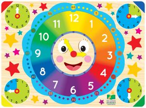 Lift and Learn Puzzles- Clock