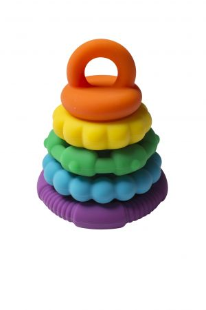 Rainbow Stacker Teether and Toy