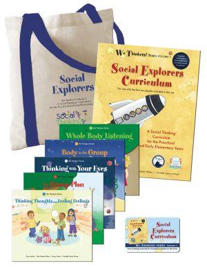 We Thinkers! Volume 1 Social Explorers Deluxe Package