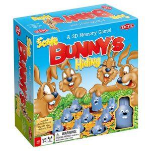 Some Bunny's Hiding