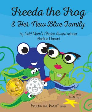 Freeda The Frog & Her New Blue Family