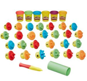 Play-Doh Shape & Learn Letters and Language Playset
