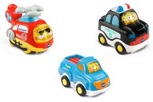 Go! Go! Smart Wheels  (Police Car, Truck, Helicopter)