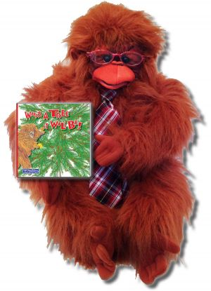 """The Gang at Baxter's Corner Gift Set Includes """"What A Tree It Will Be!"""" – Story About Cooperation and Folkmanis Puppet"""