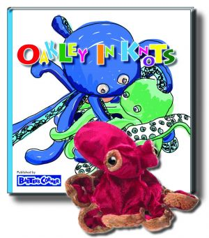 "Oakley Gift Set Includes ""Oakley in Knots"" – Story About Respect and Folkmanis Puppet"