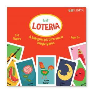 Lil' Loteria: A Lil' Libros Bilingual Bingo Game