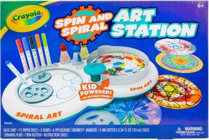 Crayola Spin and Spiral Art Station