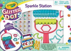 Glitter Dots Sparkle Station