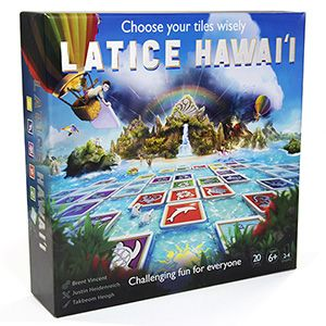 Latice Hawaii Strategy Board Game