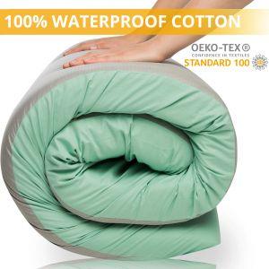 100% Waterproof Cotton Memory Foam Floor Mattress