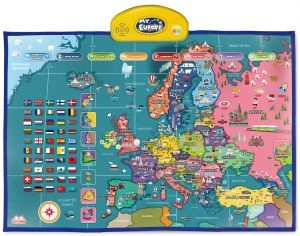 i-Poster My Europe Interactive Map