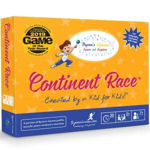 Award-Winning Children's book — Continent Race