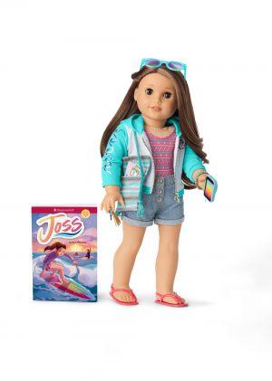 American Girl Joss Doll, Book, & Accessories