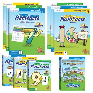 Award-Winning Children's book — Meet the Math Facts