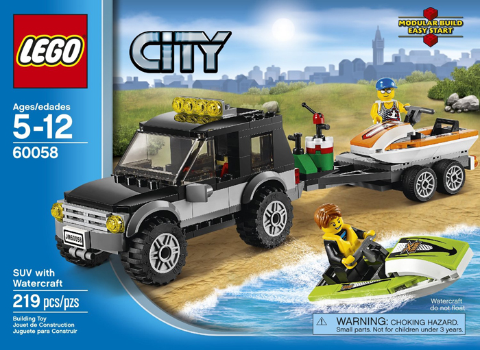 LEGO City SUV - LEGO Giveaway