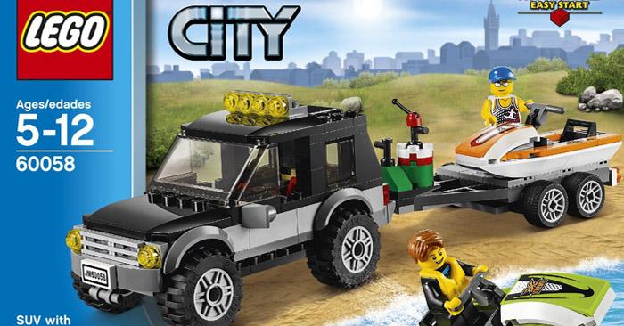 LEGO City SUV w/ Watercraft Set - Giveaway!