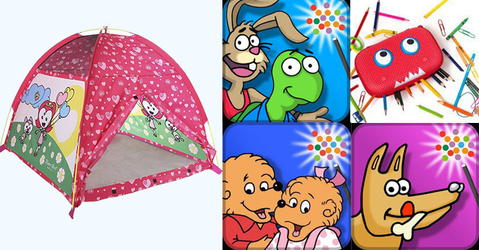 Pacific Play Tents, ZIPIT Beast Box, & Wanderful Apps