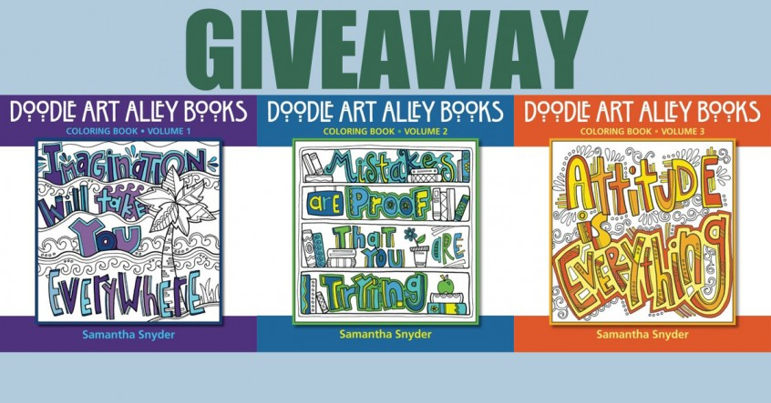 Doodle Art Coloring Book Giveaway