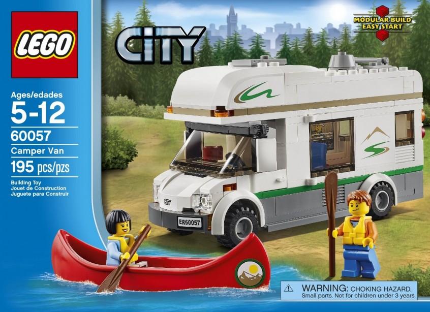 LEGO Giveaway - Lego City Camper Van set