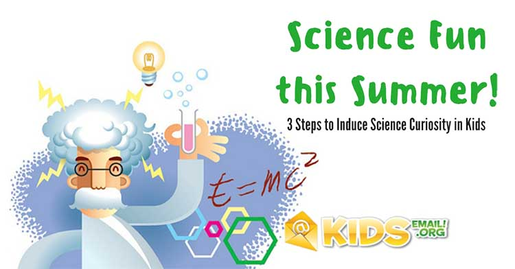 science curiosity in kids