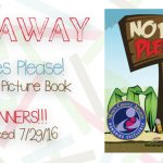 Giveaway! No Bees Please! Children's Picture Book