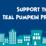These Teal Pumpkins Aren't Just Pretty, They're For a Great Cause