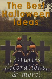 Some of Our Favorite Halloween Ideas from Around the Web! Costumes, Crafts, and More!