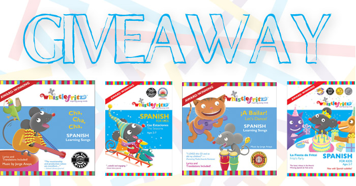 Spanish Learning DVDs and CDs giveaway (image)
