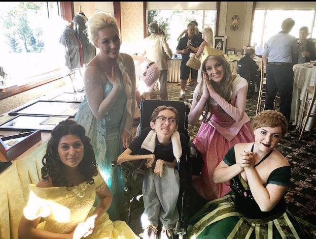 college students disney princesses