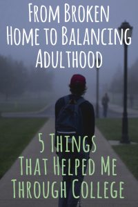 5 Things That Helped Me Through College