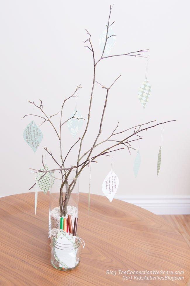 thanksgiving gratitude tree
