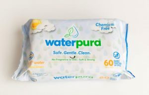 WaterPura Chemical Free Baby Wipes