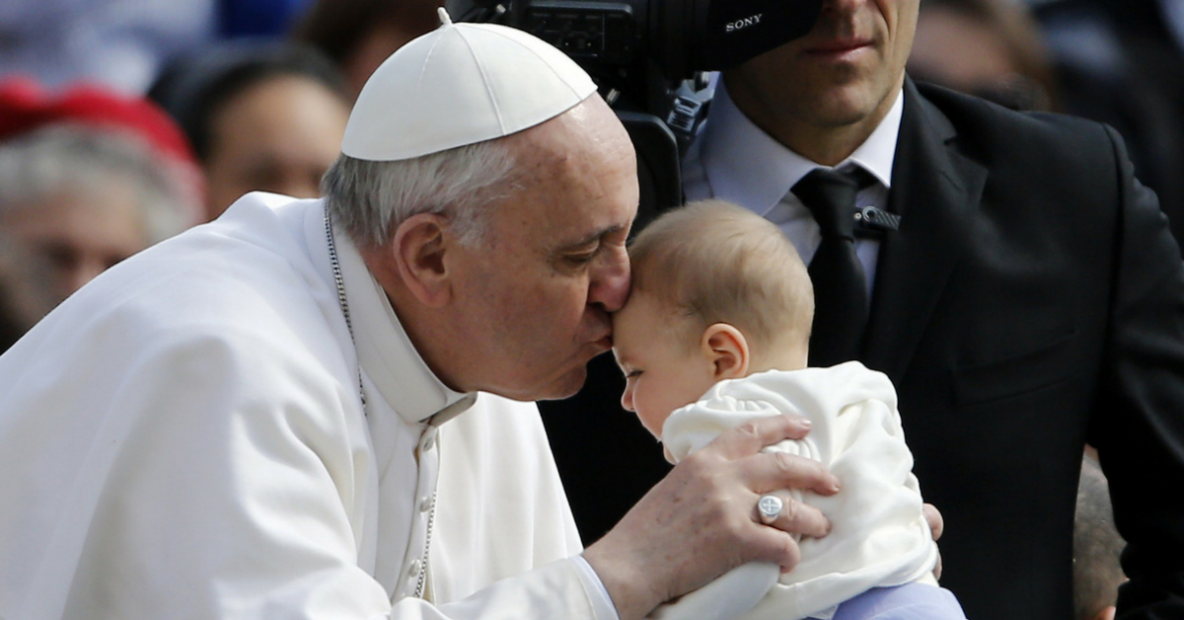 pope francis breastfeed