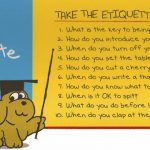Take the Etiquette IQ Quiz