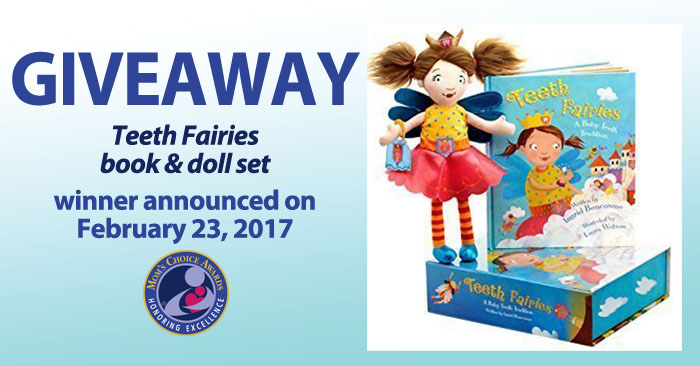 Giveaway! Teeth Fairies Book & Doll Set - Children's Dental Health Month