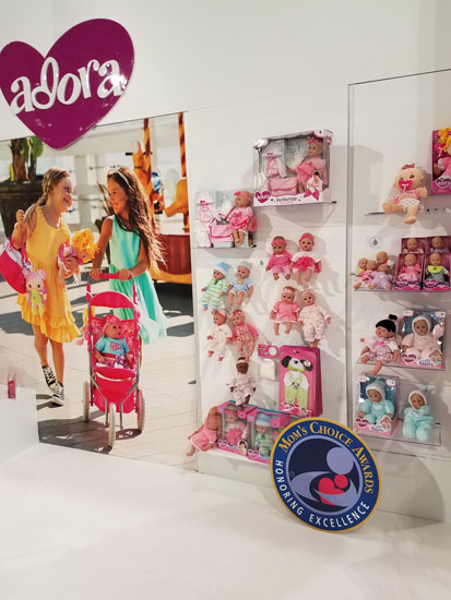 Adora booth at Toy Fair 2017