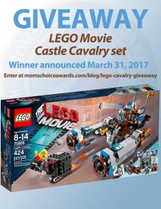 Giveaway Lego Movie Castle Cavalry Set Mom S Choice Awards Blog